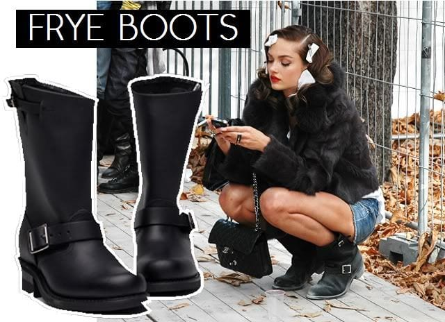 Model boots