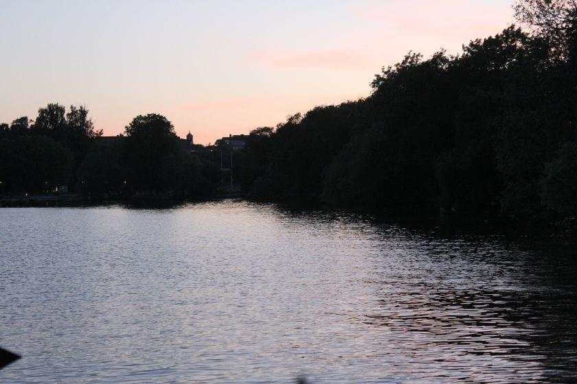 Torsdagshæng på vandet