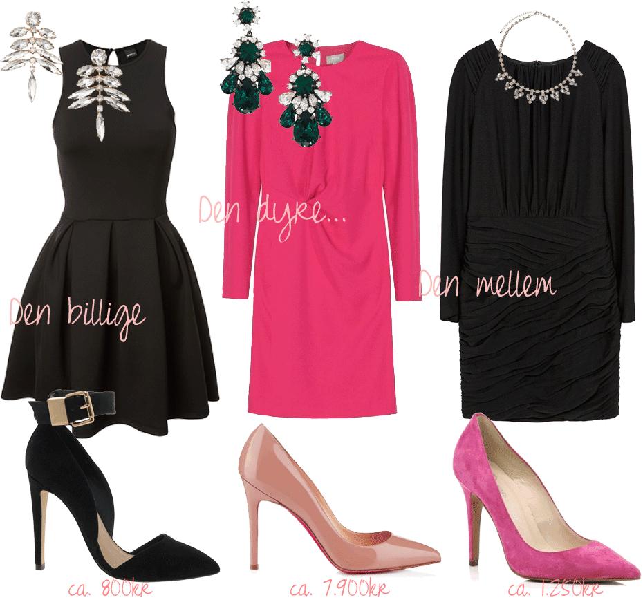 3 budgetter // Det perfekte outfit til julefrokosten