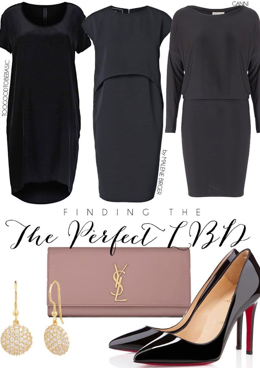INSPIRATION <i>jagten på den lille sorte kjole</i>