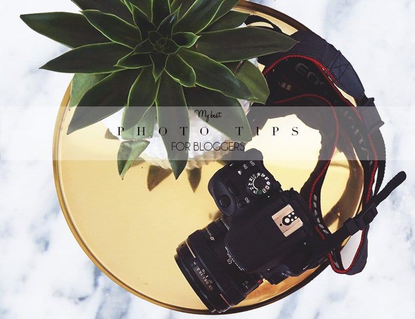 5 FOTOTIPS <i>- til bedre blog-billeder</i>