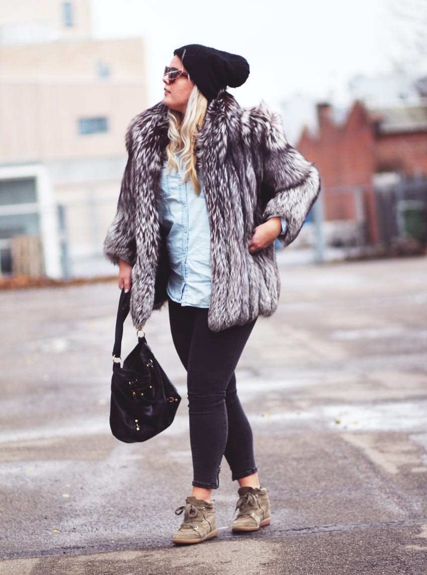 OUTFIT <i>- Gina Tricot jeans og Monki denimshirt</i>