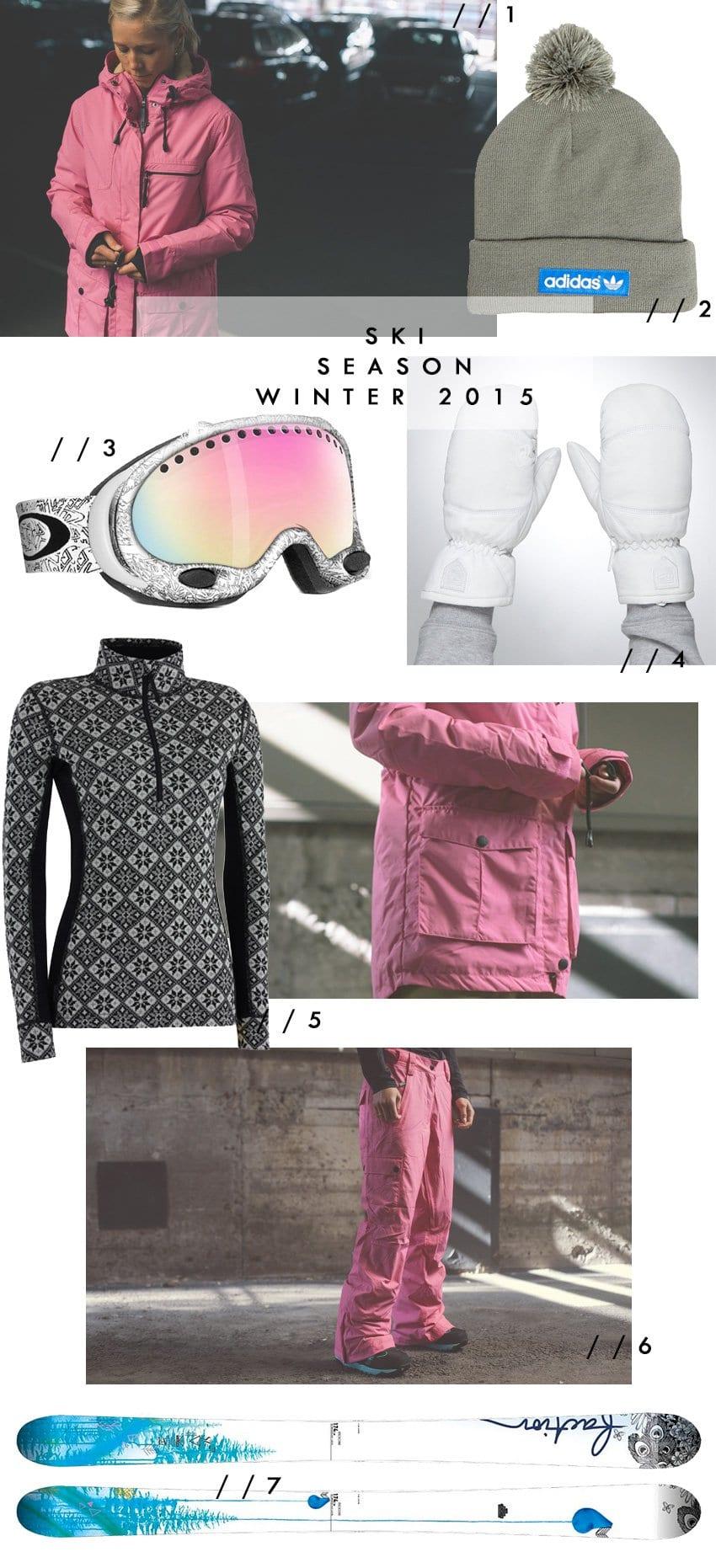 SHOPPING<br></i>- inspiration til sæsonens skitøj og et handske-tip</i>