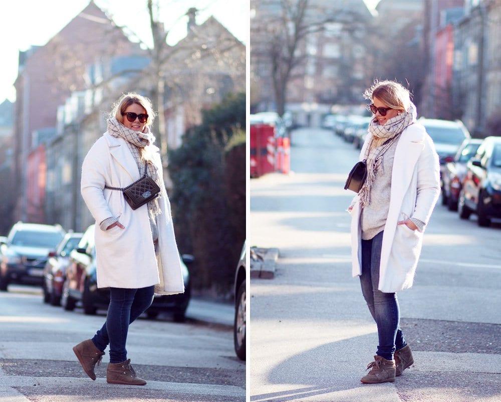 OUTFIT - Sunday stroll i jeans og oversize strik..