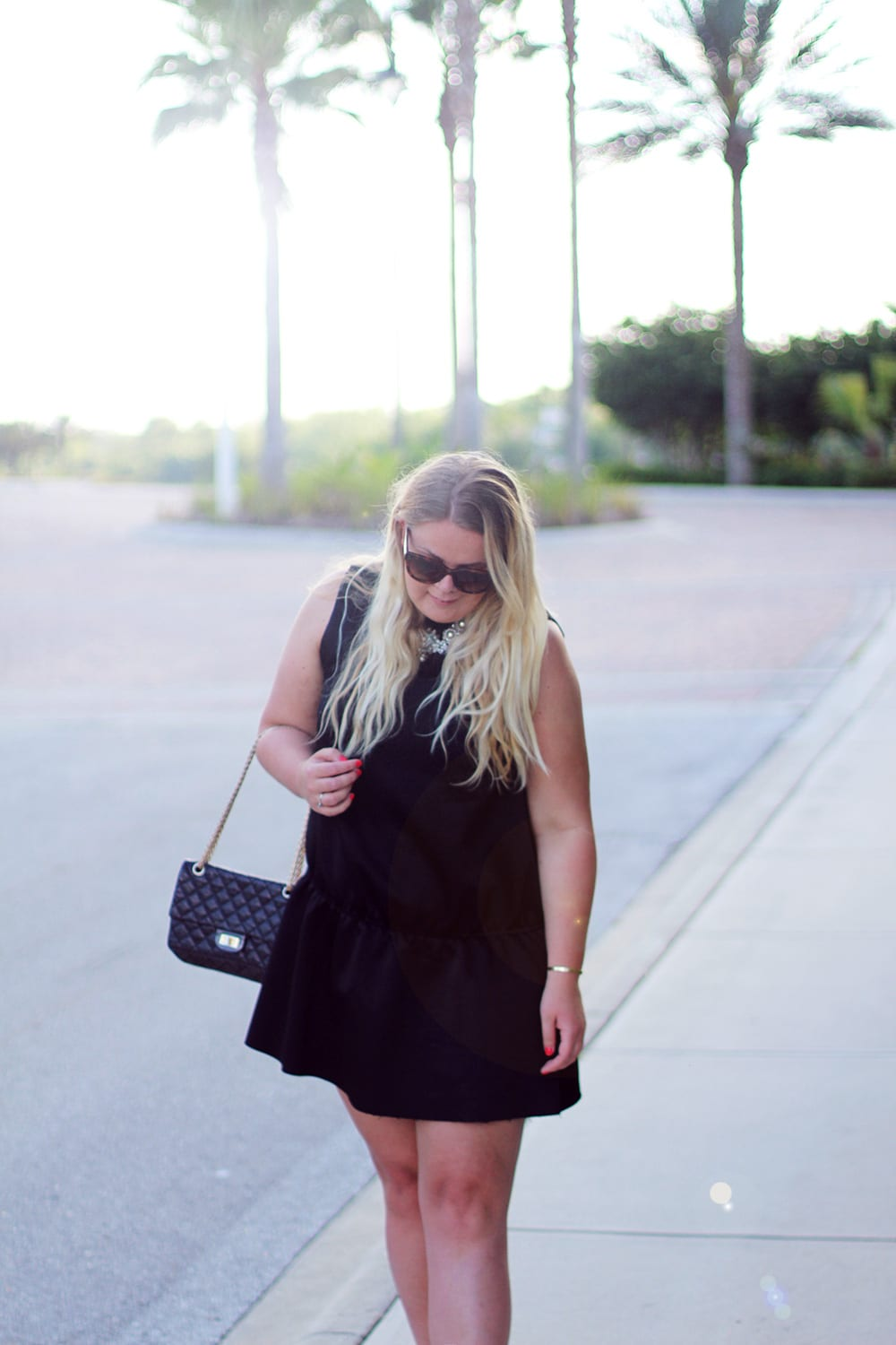 OUTFIT - the little black summer dress