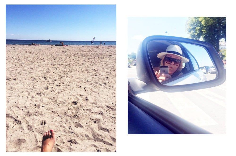 OUTFIT - en dag på stranden..