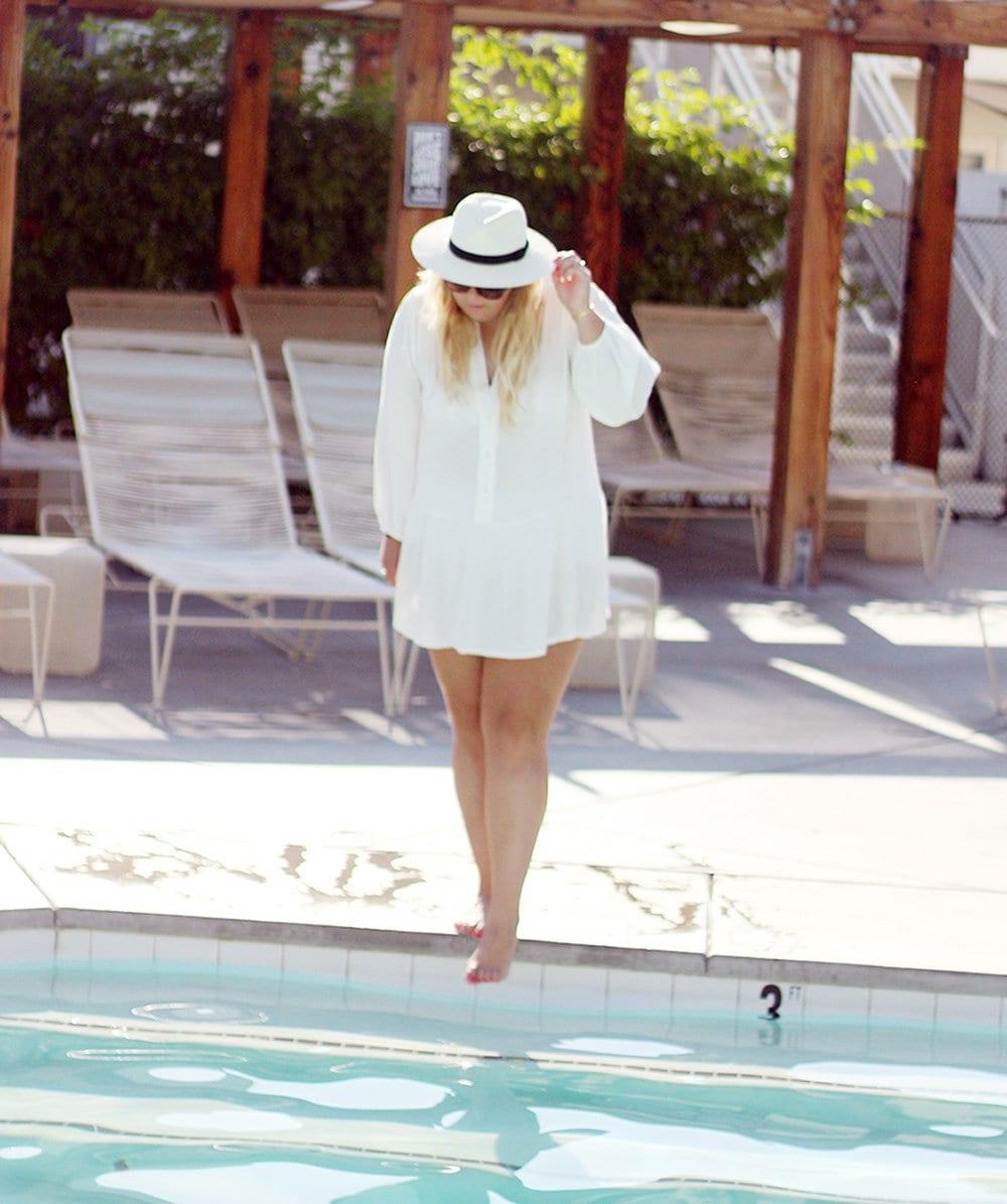 PALM SPRINGS - En morgen på ACE Hotel..