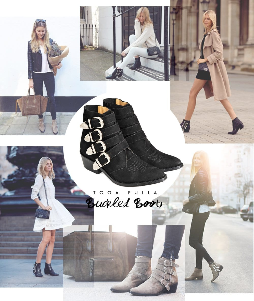 SHOPPING - the buckled boot..