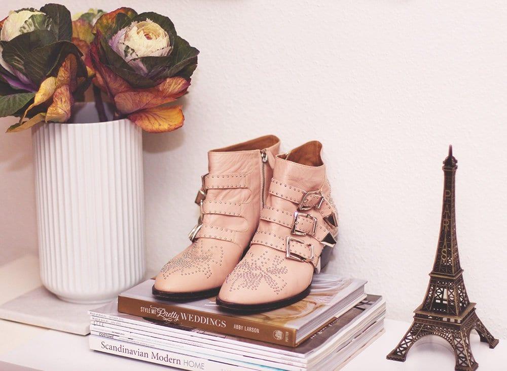 SHOPPING - nude Chloé Susanna støvler..