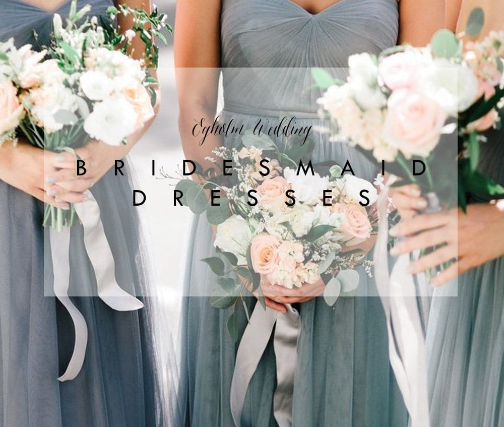 BRYLLUP - om brudepiger og kjoler..
