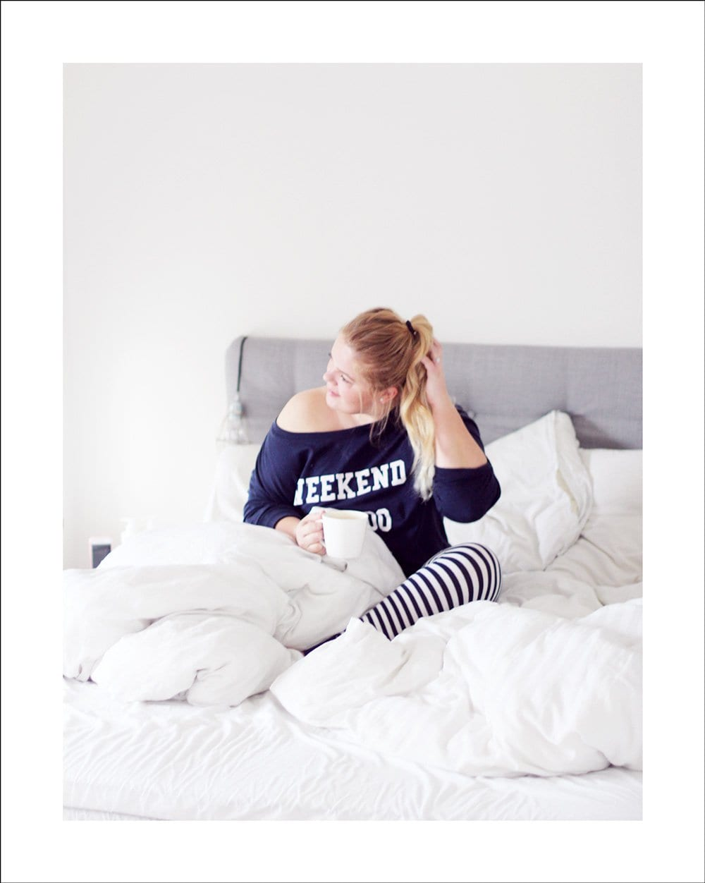 WEEKEND - ny pyjamas-favorit og rabatkode til H&M..