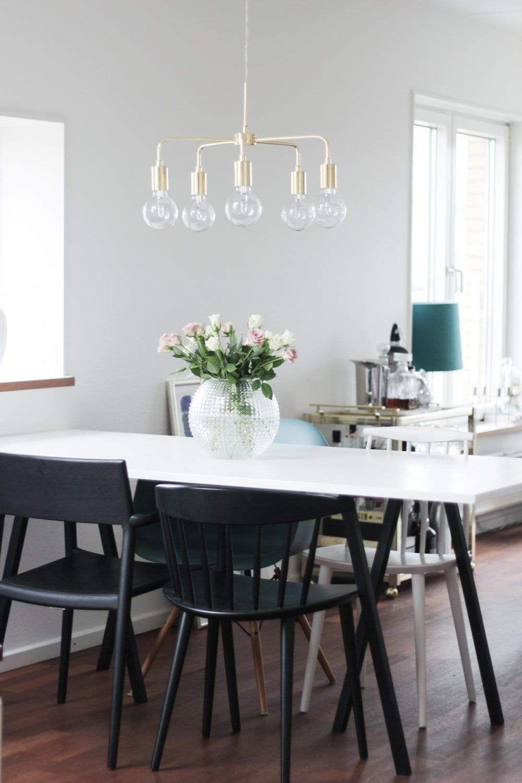 mio messing loftslampe lysekrone indretning spisebord (3 of 11)