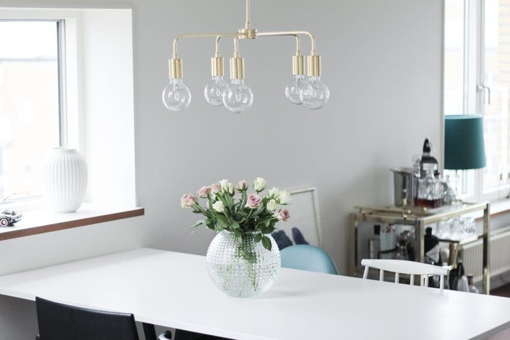 mio messing loftslampe lysekrone indretning spisebord (1 of 11)