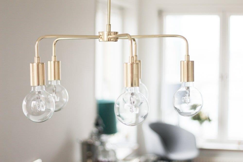 mio messing loftslampe lysekrone indretning spisebord (10 of 11)