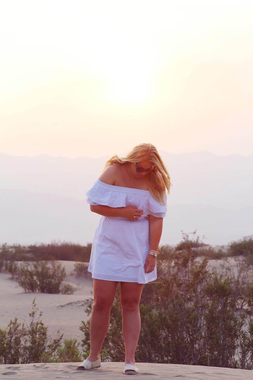 Roadtrip californien Death Valley Designers Remix off shoulder skjortekjole 1