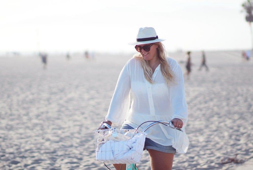 H&M-hvid-tunika-og-panama-hat
